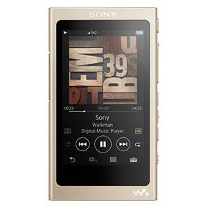 NW-A45 N ソニー ウォークマン A40シリーズ 16GB ヘッドホン非同梱モデル(ペールゴールド) SONY Walkman