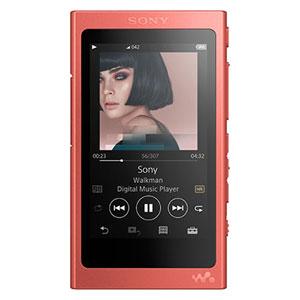 NW-A45 R ソニー ウォークマン A40シリーズ 16GB ヘッドホン非同梱モデル(トワイライトレッド) SONY Walkman