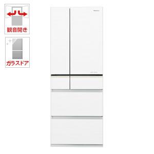 (標準設置料込)NR-F503XPV-W パナソニック 501L 6ドア冷蔵庫(スノーホワイト) Panasonic エコナビ