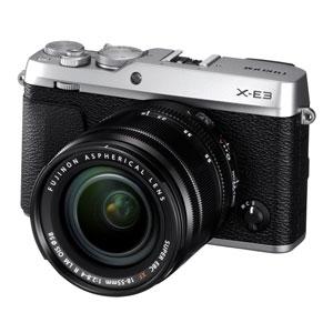 F X-E3LKS 富士フイルム デジタル一眼カメラ「X-E3」ズームレンズキット(シルバー)