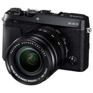 FX-E3LKB 富士フイルム ミラーレス一眼カメラ「FUJIFILM X-E3」ズームレンズキット(ブラック)