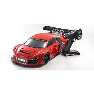 1/8 ラジオコントロール インファーノ GT2 VE レーススペック レディセット アウディ R8 LMS レッド (KT-331P付)【34102】 京商
