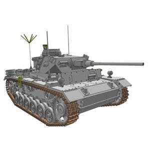 1/35 WW.II ドイツ軍 III号指揮戦車K型 (スマートキット)【DR6853】 ドラゴンモデル
