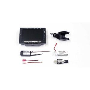 KYOSHO オンボードモニター LiPO&USB充電器付【82724BC】 京商