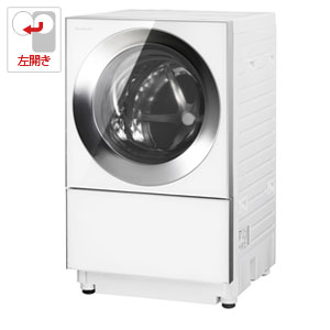 (標準設置料込)NA-VG1200L-S パナソニック 10.0kg ドラム式洗濯機【左開き】シルバーステンレス Panasonic Cuble(キューブル)