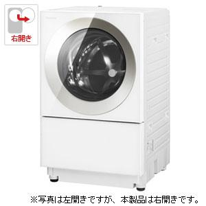 (標準設置料込)NA-VG720R-N パナソニック 7.0kg ドラム式洗濯機【右開き】シャンパン Panasonic Cuble(キューブル)