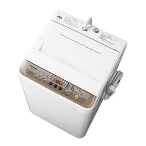 (標準設置料込)NA-F60PB11-T パナソニック 6.0kg 全自動洗濯機 ブラウン Panasonic