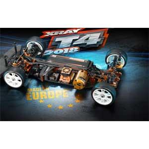 【再生産】1/10 XRAY T4 2018 EP ツーリングカー【300024#】 セントラルアールシー
