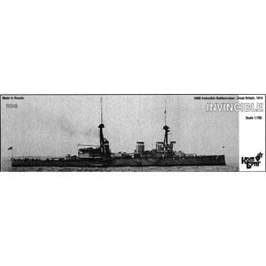 1/700 英巡洋戦艦インビンシンブル Eパーツ付・1914【CS70249】 コンブリック