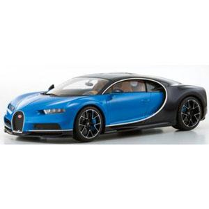 1/12 Bugatti Chiron(ブルー/ダークブルー)【KSR08664BL】 京商