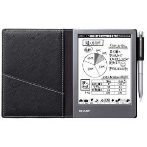 WG-S50 シャープ 電子ノート ブラック
