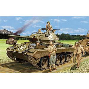 1/35 米・M24チャーフィー軽戦車(大戦型)+戦車兵4体【CB35069】 ブロンコ