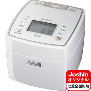 NJ-V18J6-W 三菱 IHジャー炊飯器(1升炊き) ピュアホワイト MITSUBISHI NJ-VV188のJoshinオリジナルモデル