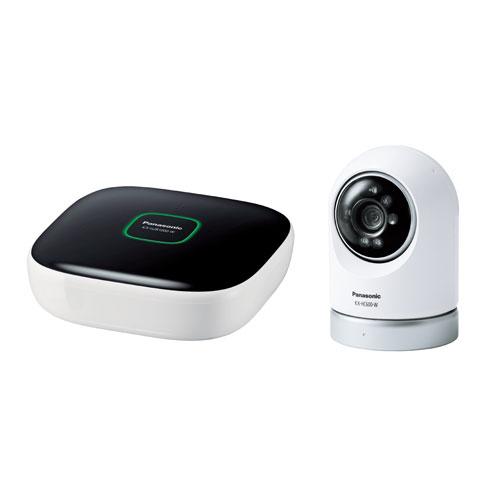 KX-HC600K-W パナソニック 屋内スイングカメラキット(ホームユニット+屋内スイングカメラ) Panasonic スマ@ホームシステム ホームネットワークシステム