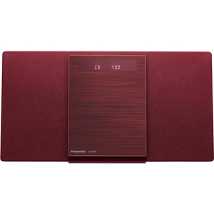 SC-HC400-R パナソニック Bluetooth対応コンパクトステレオシステム (レッド) Panasonic