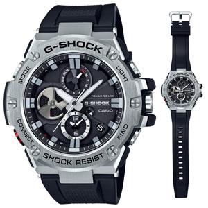 GST-B100-1AJF カシオ 【国内正規品】G-SHOCK(ジーショック) G-STEEL Bluetooth Gショック メンズタイプ [GSTB1001AJF]【返品種別A】