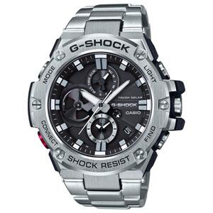 GST-B100D-1AJF カシオ 【国内正規品】G-SHOCK G-STEEL Bluetooth Gショック メンズタイプ [GSTB100D1AJF]【返品種別A】