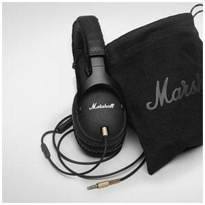 ZMH-04090800 マーシャル ダイナミック密閉型ヘッドホン(ブラック) Marshall Monitor Black (モニターブラック)