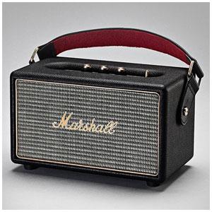 ZMS-04091189 マーシャル Bluetooth対応 ポータブルスピーカー(ブラック) Marshall Kilburn Black