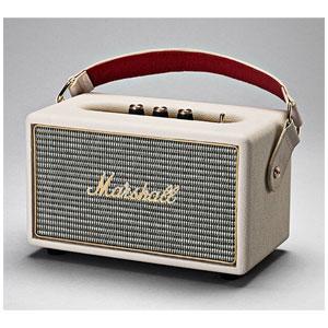ZMS-04091190 マーシャル Bluetooth対応 ポータブルスピーカー(クリーム) Marshall Kilburn Cream
