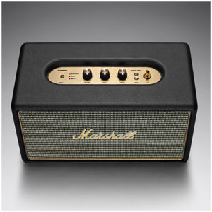 ZMS-04091627 マーシャル Bluetooth対応 スピーカー(ブラック) Marshall Stanmore Bluetooth Black