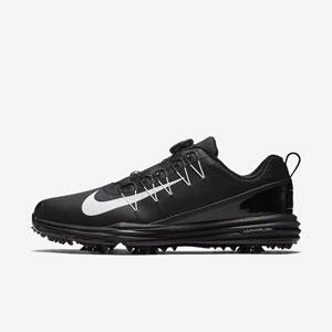 NK17S 849970-002 260 ナイキ メンズ・ゴルフシューズ ワイド(ブラック/ブラック/ホワイト・26.0cm) Nike ナイキ ルナ コマンド 2 BOA