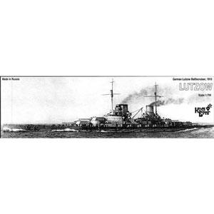 1/700 独巡洋戦艦リュッツォー Eパーツ付・1915【CS70433】 コンブリック