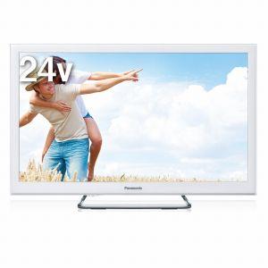 TH-24ES500-W パナソニック 24V型地上・BS・110度CSデジタルハイビジョンLED液晶テレビ(ホワイト) (別売USB HDD録画対応)VIERA