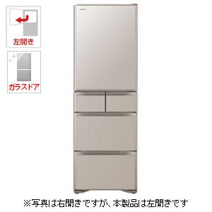 (標準設置料込)R-S4000HL-XN 日立 401L 5ドア冷蔵庫(クリスタルシャンパン)【左開き】 HITACHI