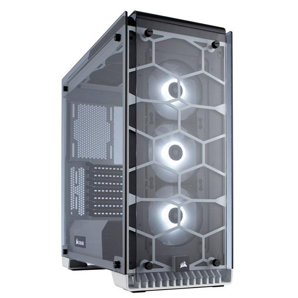 CC-9011110-WW コルセア ミドルタワー型PCケース CORSAIR Crystal 570X RGB White
