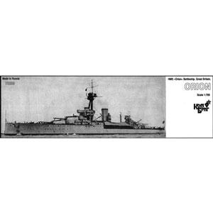 1/700 英弩級戦艦HMS オライオン Eパーツ付・1912【CS70259】 コンブリック