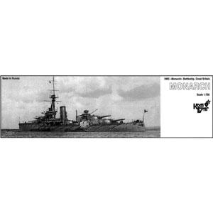 1/700 英弩級戦艦HMS モナーク Eパーツ付・1912【CS70261】 コンブリック