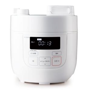 SP-D121(W) シロカ 電気圧力鍋 ホワイト siroca