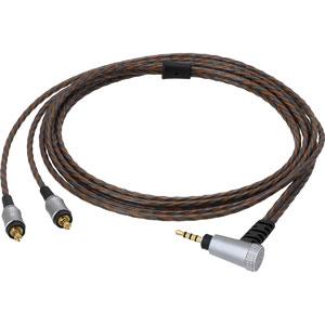 HDC212A/1.2 オーディオテクニカ ヘッドホンリケーブル(1.2m)【A2DCコネクタ⇔2.5mm4極バランス】 audio-technica