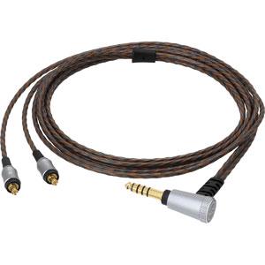 HDC214A/1.2 オーディオテクニカ ヘッドホンリケーブル(1.2m)【A2DCコネクタ⇔4.4mm5極バランス】 audio-technica