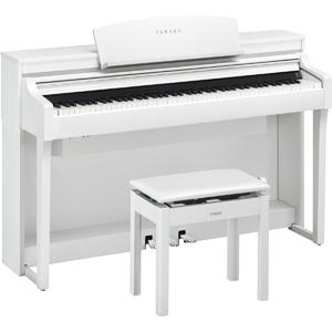 CSP-170WH ヤマハ 電子ピアノ(ホワイトウッド調仕上げ)【高低自在椅子&ヘッドホン付き】 YAMAHA Clavinova(クラビノーバ)