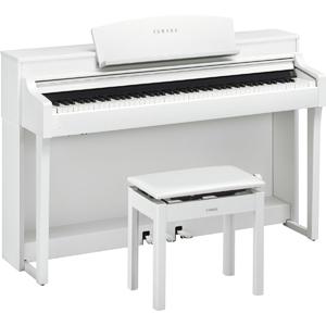 CSP-150WH ヤマハ 電子ピアノ(ホワイトウッド調仕上げ)【高低自在椅子&ヘッドホン付き】 YAMAHA Clavinova(クラビノーバ)