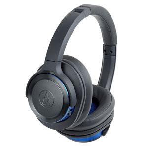 ATH-WS660BT GBL オーディオテクニカ Bluetooth対応ワイヤレスヘッドホン(ガンメタリックブルー) audio-technica