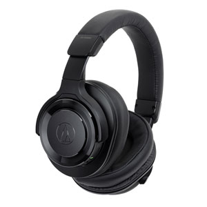 ATH-WS990BT BK オーディオテクニカ Bluetooth対応ワイヤレスヘッドホン(ブラック) audio-technica