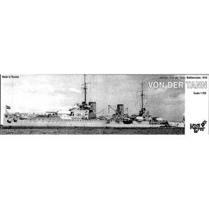 1/700 独巡洋戦艦フォンデアタン Eパーツ付・1913【CS70422】 コンブリック