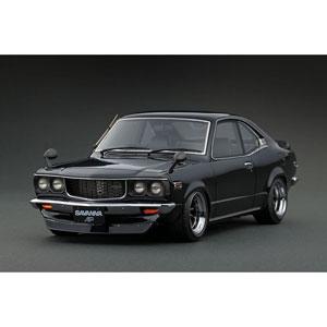 1/18 Mazda Savanna (S124A) Black Watanabe-Wheel【IG0701】 ignitionモデル