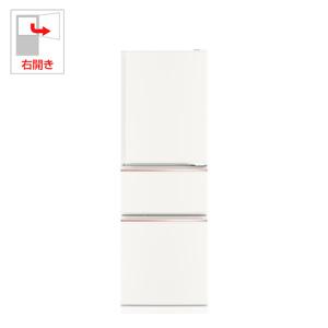(標準設置料込)MR-CX27C-W 三菱 272L 3ドア冷蔵庫(ジュエリーホワイト)【右開き】 MITSUBISHI