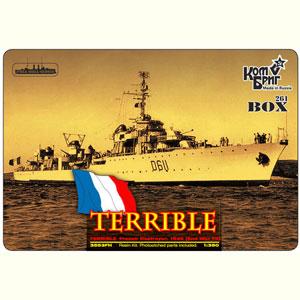 1/350 仏駆逐艦ル・テリブル1936【CS35053】 コンブリック