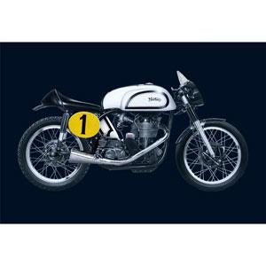 【再生産】1/9 バイク ノートン マンクス 500cc 1951【IT4602】 イタレリ