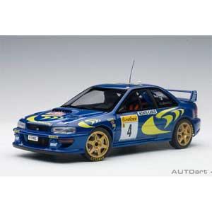 1/18 スバル インプレッサ WRC 1997 #4 (ピエロ・リアッティ/ファブリツィア・ポンス) モンテカルロラリー優勝【89791】 オートアート