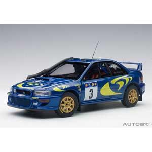 1/18 スバル インプレッサ WRC 1997 #3 (コリン・マクレー/ニッキー・グリスト) サファリラリー優勝【89792】 オートアート