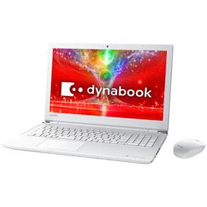 PTEX-7JEBJW 東芝 15.6型 ノートパソコン 【Joshin オリジナル】dynabook EX/7EW リュクスホワイト (Office Home&Business Premium プラス Office 365)