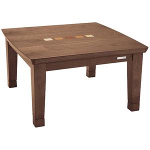 KTR-3177 コイズミ 家具調コタツ(75×75cm) 【暖房器具】KOIZUMI