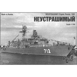 1/700 ソ連フリゲートPr.11540ネウストラシムイ・Eパーツ付・1990【CS70328】 コンブリック [CS70328 ネウストラシムイ 1990]【返品種別B】