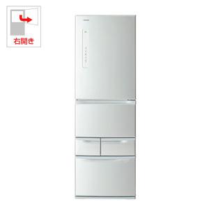 (標準設置料込)GR-M41G-S 東芝 411L 5ドア冷蔵庫(シルバー)【右開き】 TOSHIBA VEGETA(ベジータ)